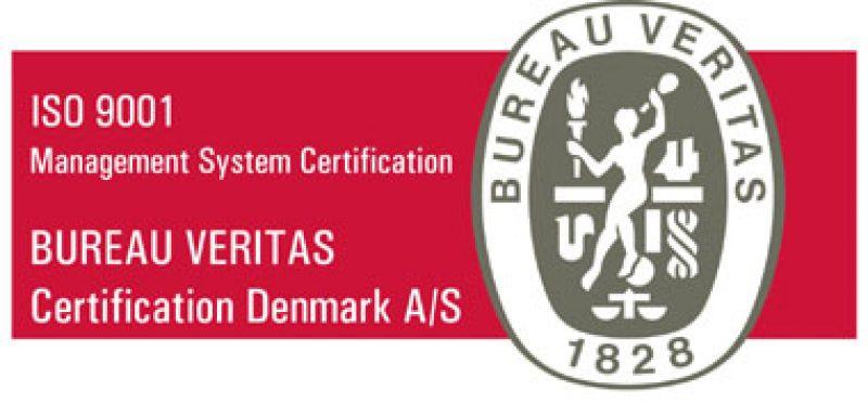 VM Kompensator ISO 9001-2015 certificeret
